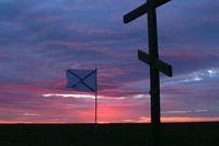 В память о моряках, погибших в Арктике
