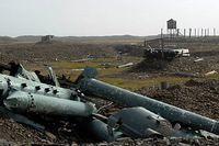 Корпуса ракет, защищавших Норильск