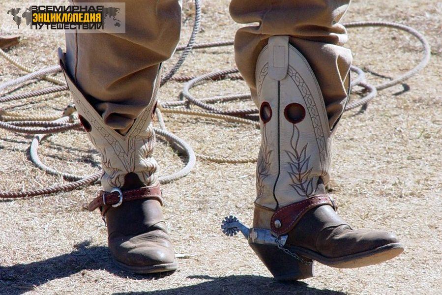 Сделать ковбойские сапоги своими руками