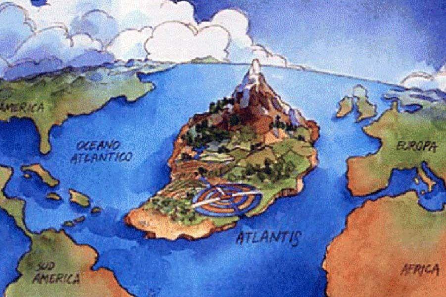 Исчезнувшие цивилизации: АТЛАНТИДА.