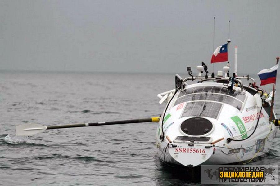 федор конюхов пересекает тихий океан на лодке