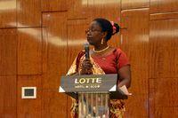 Чрезвычайный и Полномочный Посол Республики Руанда в РФ Жанна д'Арк Мужавамария