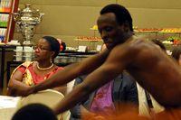 Выступление ансамбля Inganzo Ngari